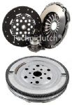 DUAL MASS FLYWHEEL DMF & COMPLETE CLUTCH KIT W/ CSC OPEL VECTRA C GTS 2.2